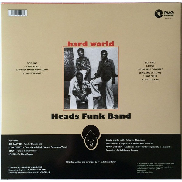 Heads Funk Band Hard World (afro funk)