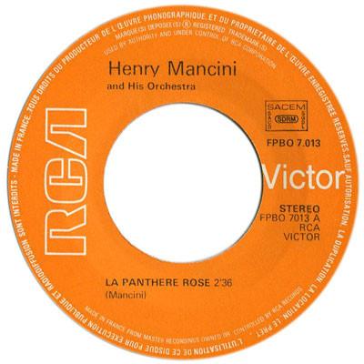Henry MANCINI la panthere rose (theme) / the village inn