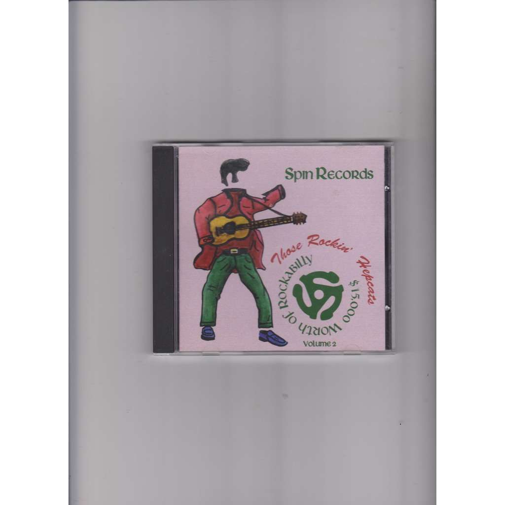 divers.compilation.various artists $15.000 Worth of Rockabilly Vol.2 - Those Rockin' Hepcats