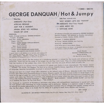 George Danquah Hot And Jumpy