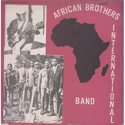 african brothers international band led by Nama Kwame Ampadu
