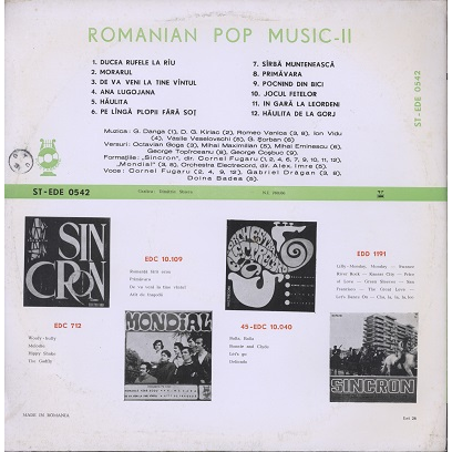romanian pop music (various) vol.2