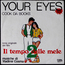 COOK DA BOOKS / PAUL HUDSON - Your Eyes / Rockin' At The Hop - 45T (SP 2 titres)