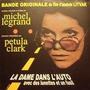 Michel Legrand / Petula Clark La Dame Dans L' Auto Avec Des Lunettes Et Un Fusil