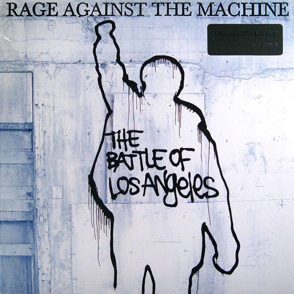 RAGE AGAINST THE MACHINE THE BATTLE OF LOS ANGELES (lp) Ltd Edit 180 Gram -E.U