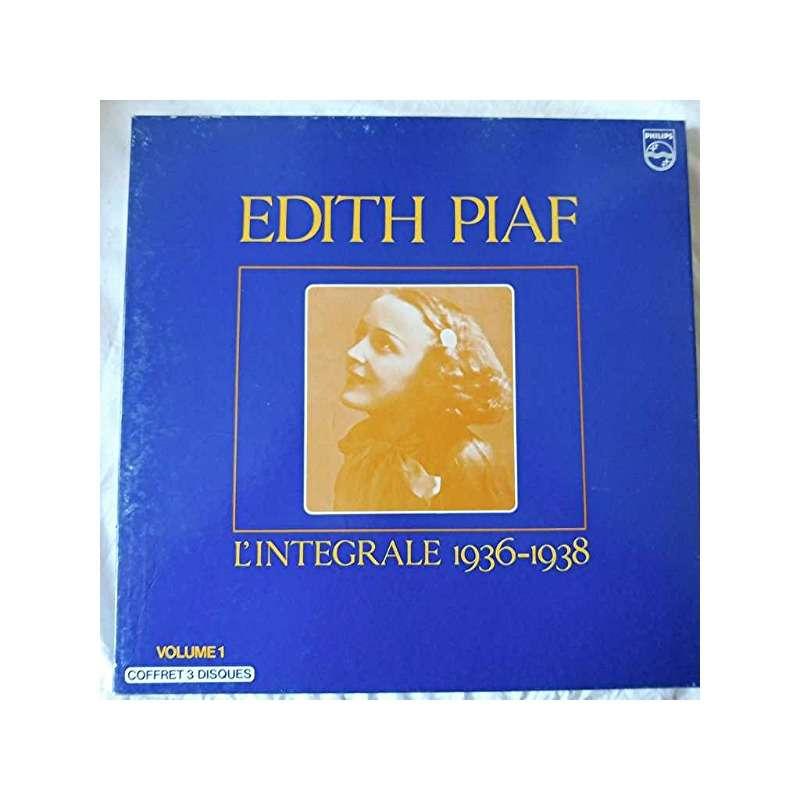 L'intégrale 1946-1963 by Edith Piaf, LP Box set with klassiklabel ...