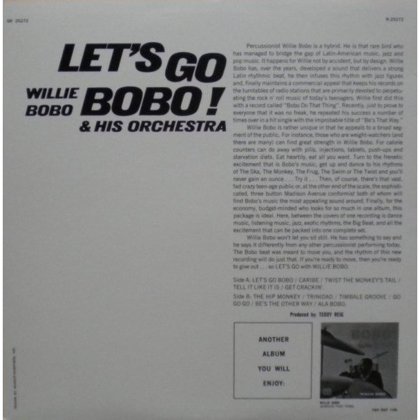 Willie Bobo & His Orchestra Let's Go Bobo!