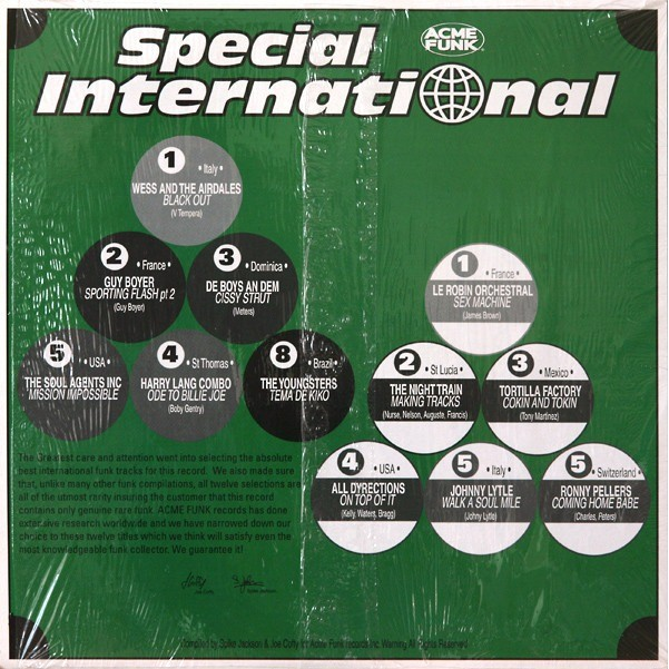 Various / Acme Funk 3 Special International - Guy Boyer - Tortilla Factory