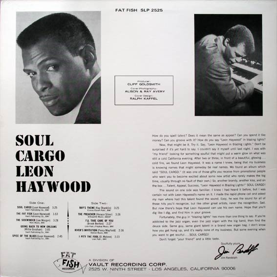 Leon Haywood Soul Cargo