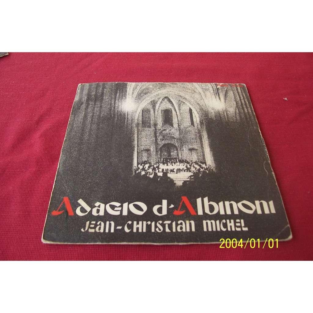 jean christian michel / albinoni adagio d' albinoni _ / aria de la suite en ré ( nouvelle version