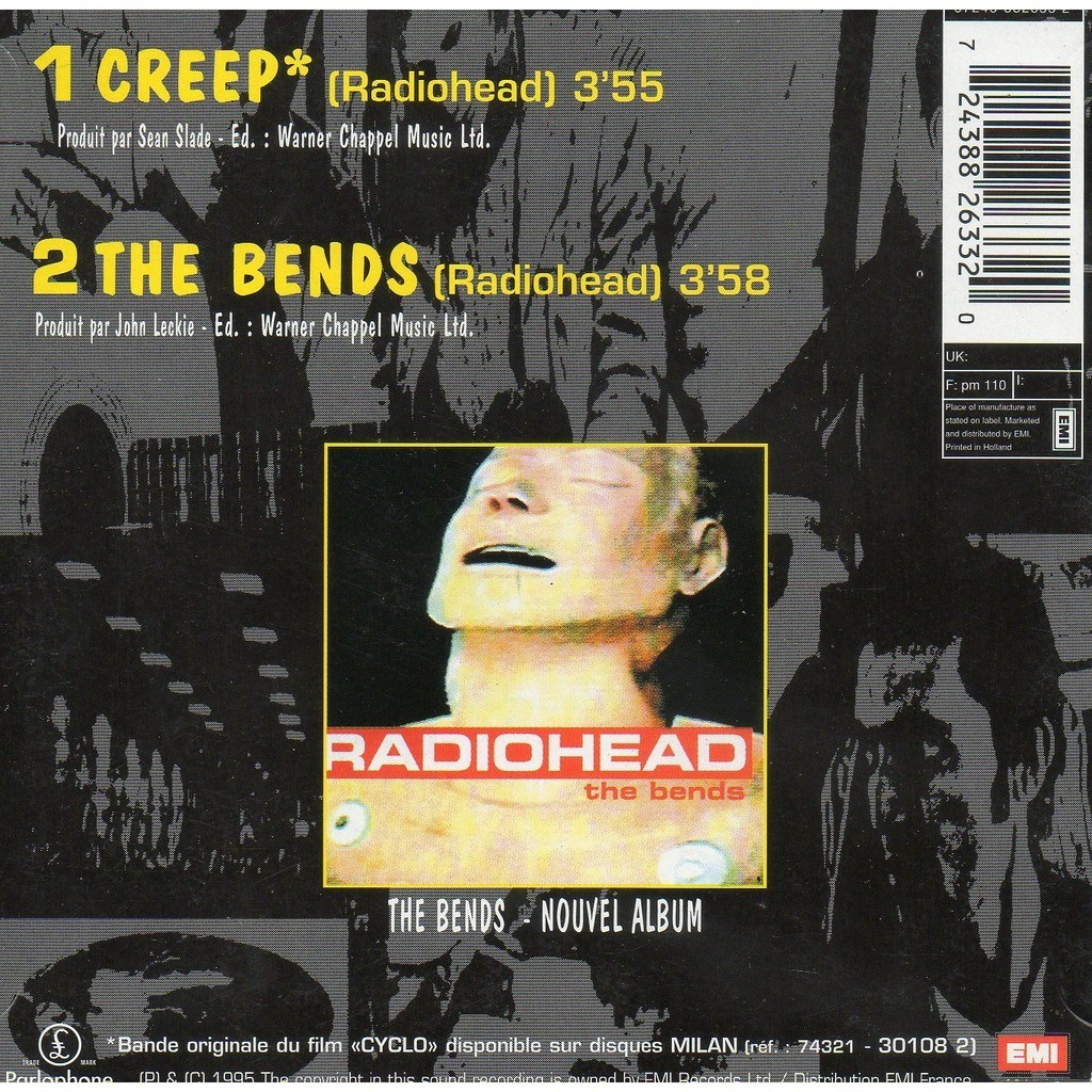 analysis of creep by radiohead Jonny greenwood's jagged, brutal interjections on creep, the band's 1993 breakthrough hit, recalled the ugly noise of the pixies and nirvana, a sound that translated over the expanse of an ocean, but in the throes of the alternative rock explosion of the mid-'90s, radiohead were the odd band out.