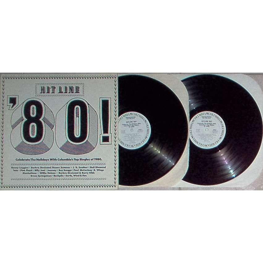Pink Floyd Hit Line '80! (USA 1980 promo-only w/label 2LP sampler unique gf ps)