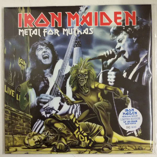 Iron Maiden Metal For Muthas (2xLP) LTD EDIT BLUE VINYL 400 COPIES -E.U