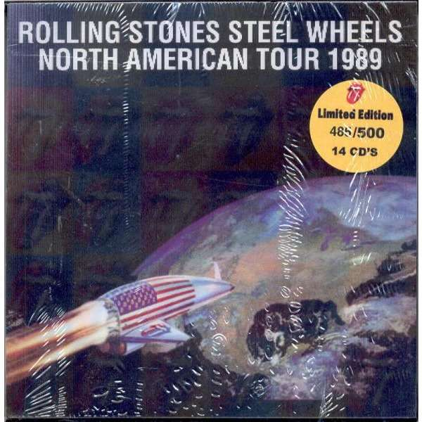 Steel Wheels North American Tour 1989 Ltd 500 Copies 14