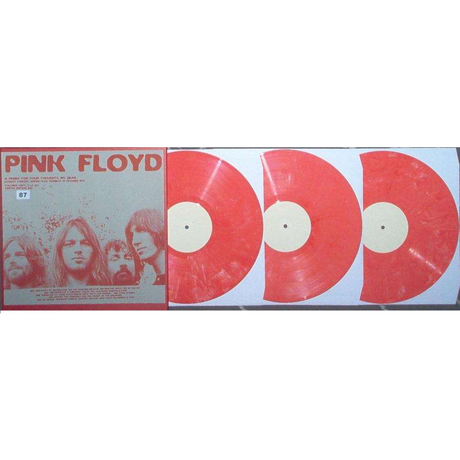 Pink Floyd A Penny For Your Thoughts My Dear (Charity Concert Empire Pool Wembley 21.10.1972)