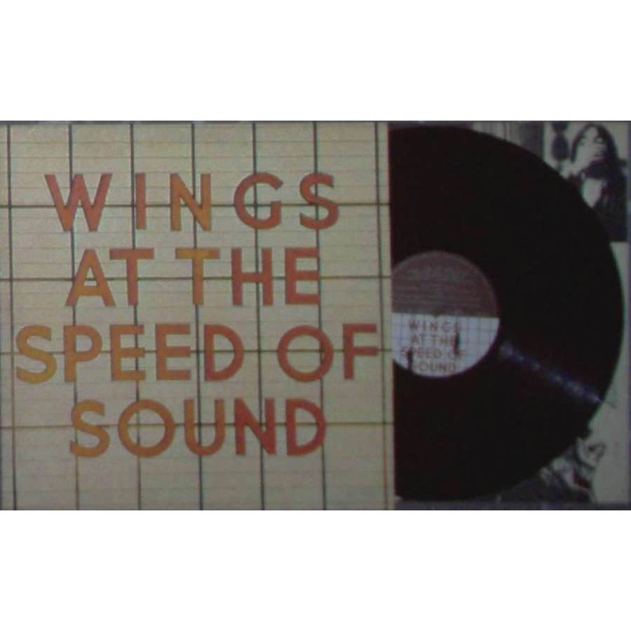 Beatles / Paul McCartney & Wings At The Speed Of Sound (Italian 1976 11-trk original LP full ps & inner slv)