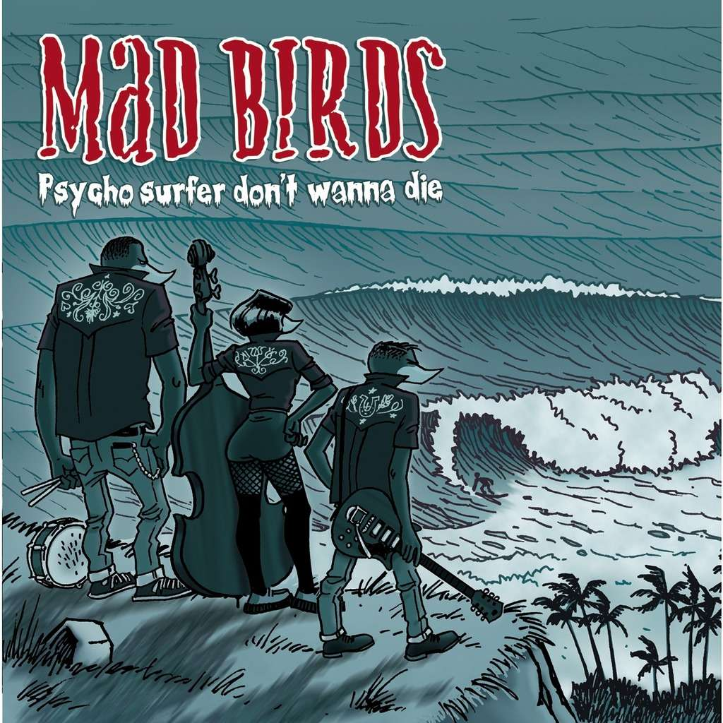 BE FAST : Mad Birds Psycho Surfer Don't Wanna Die - CD