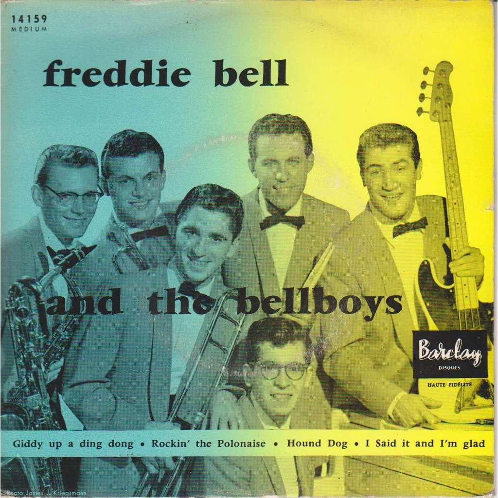 Giddy up a ding dong - Freddie Bell And The Bellboys - ( 7'' (EP) ) - 売り手:  pinup - Id:118205578