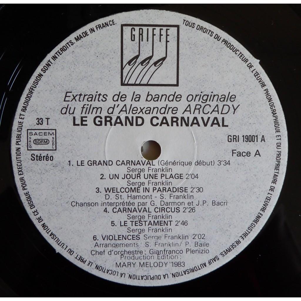 serge franklin Le Grand Carnaval