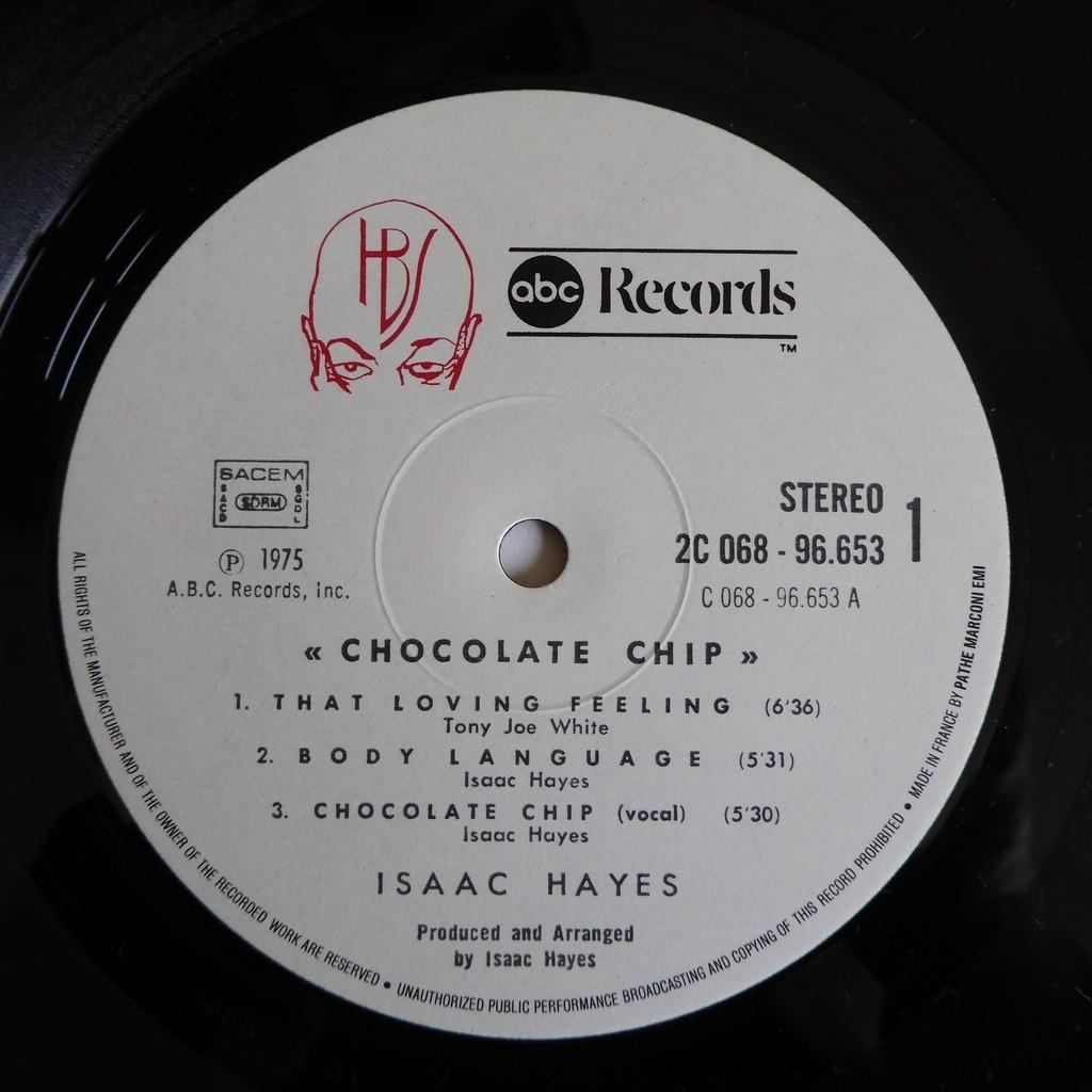isaac hayes Chocolate Chip