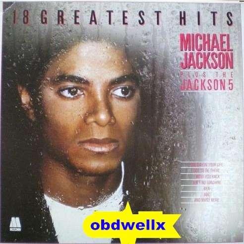 JACKSON Michael 18 Greatest hits