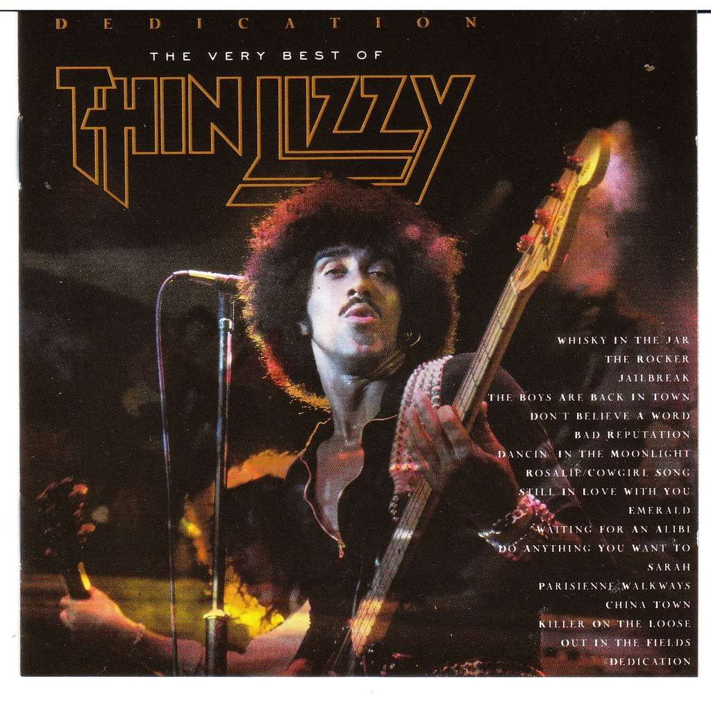 Dedication The Very Best Of By Thin Lizzy Cd With