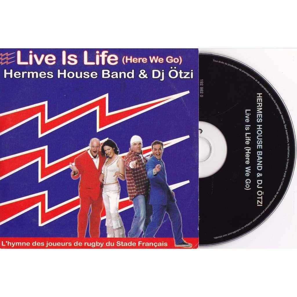 hermes house band & dj otzi live is life
