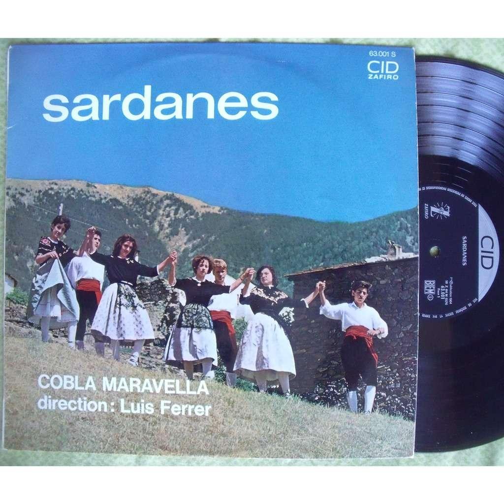COBLA MARAVELLA Direction LUIS FERRER Tossa Bonica Sardanes