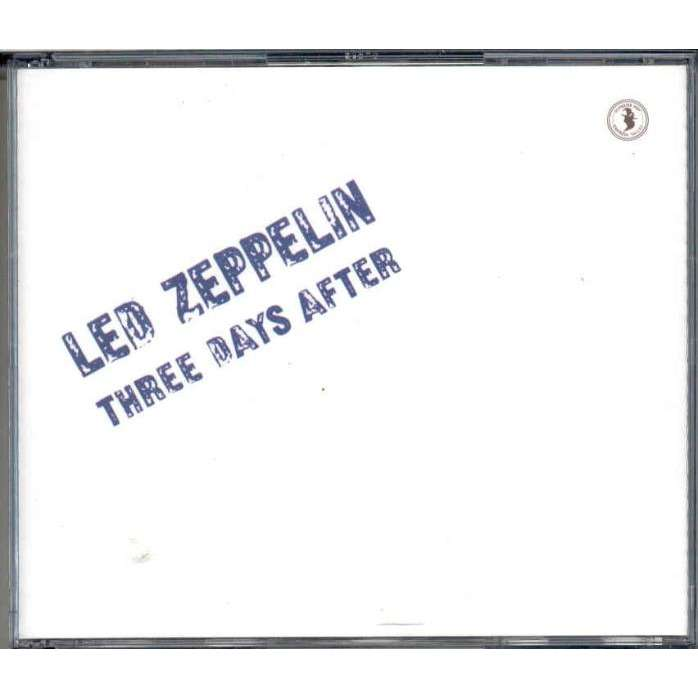 Led Zeppelin Three Days After (The Forum Ibglewood California USA  03 06 1973)
