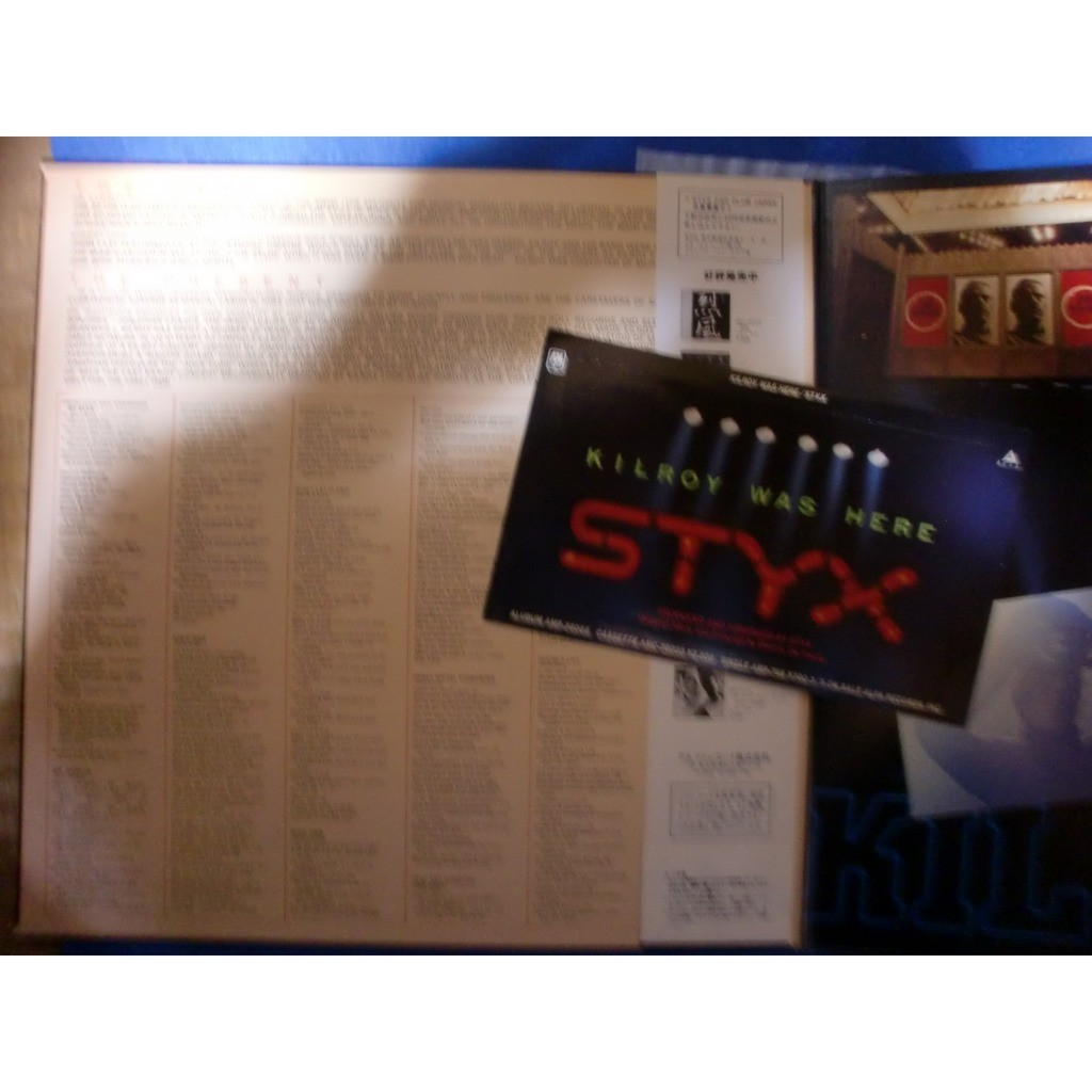 styx kilroy was here (w/sticker)