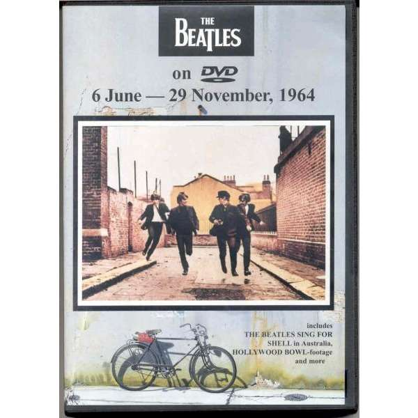 Beatles 6 June - 29 November 1964 (Inc. Beatles sing for Shell in Australia, Hollywood Bowl-footage etc.)