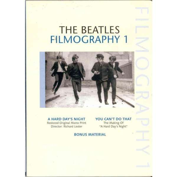 beatles Filmography 1 (Silent Sea lbl Ltd 2-sided DVD deluxe ps)