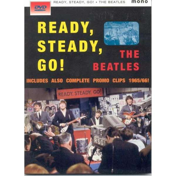 Beatles Ready Staedy Go (Complete promo Clips 1965-66 etc.)