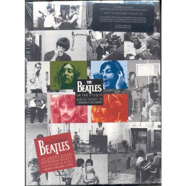 Beatles The Complete Beatles at Abbey Road Monitor Mixes (STATB lbl Ltd 4CDs & DVD Box set)