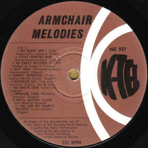 David Gray (10) Armchair Melodies