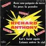 richard anthony avec une poignée de terre - let's twist again