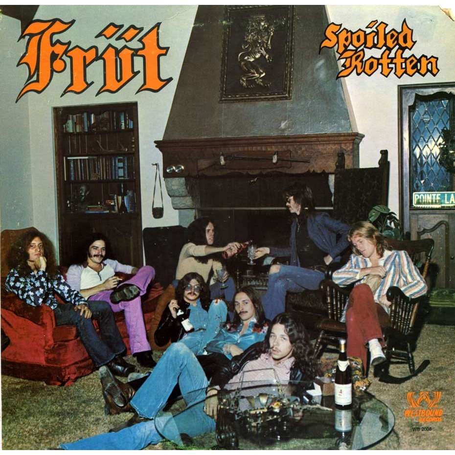 FRÜT spoiled rotten - PROMO - ( garage rock / protopunk from Detroit)