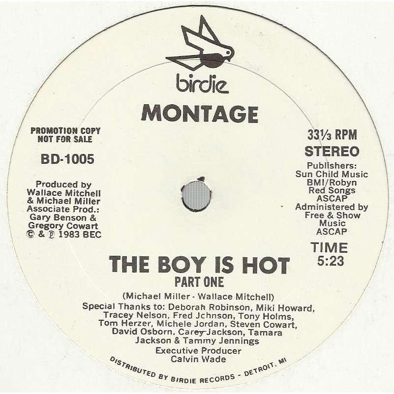 MONTAGE the boy is hot / instru.