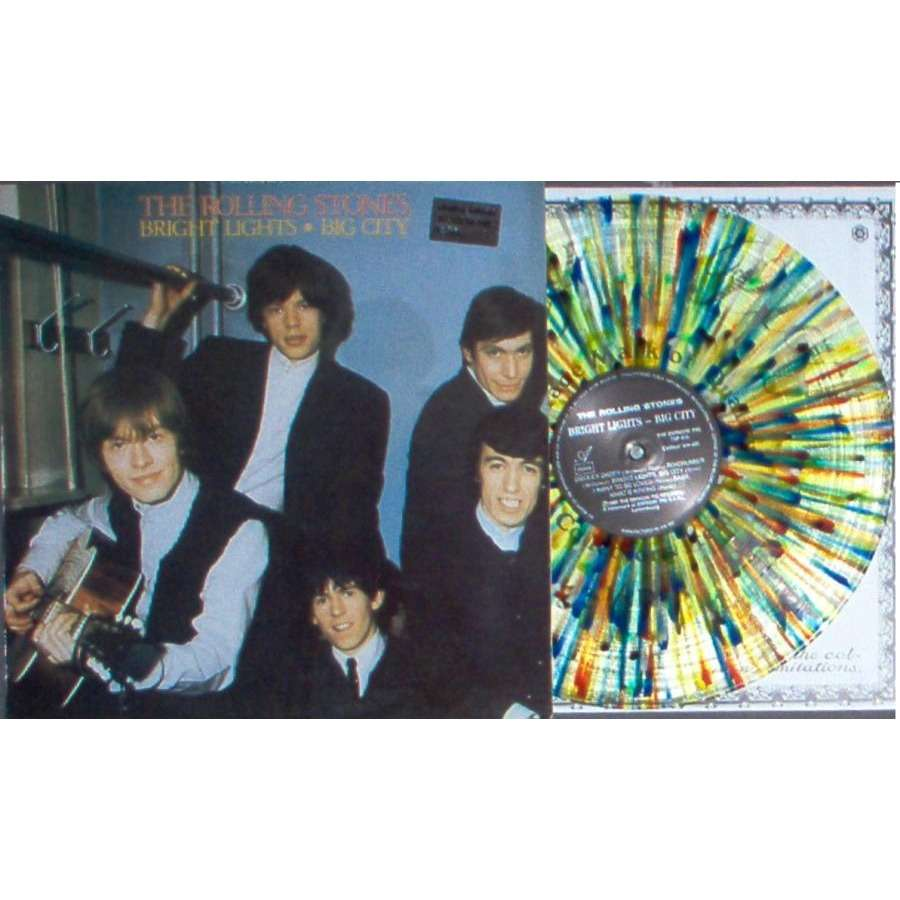 Rolling Stones Bright Lights - Big City (Ltd 250 copies LP Splash Wax on original Swinging Pig lbl deluxe ps)