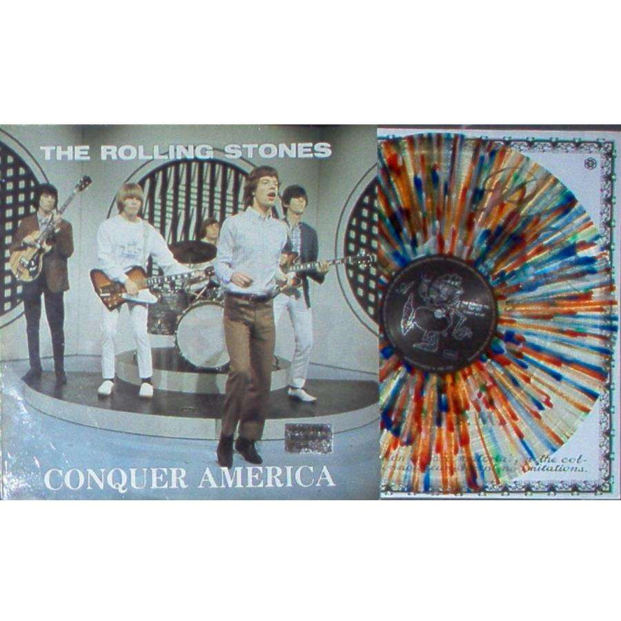 Rolling Stones Conquer America (Ltd 250 copies LP SPLASH wax on original Swinging Pig lbl deluxe ps)