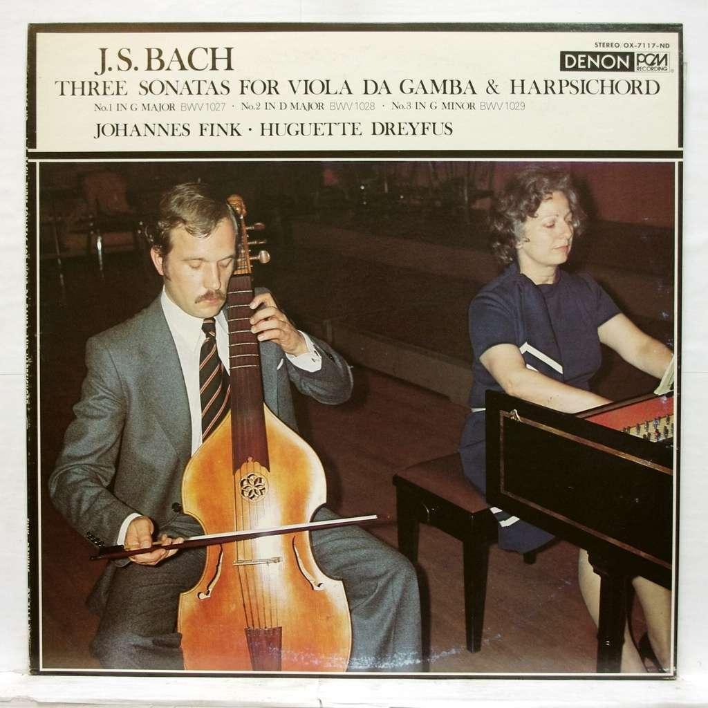Bwv1027-1029 Viola Da Gamba Bach Sonatas 3