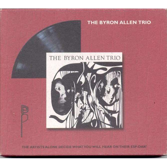 Byron Allen Trio Byron Allen Trio (Euro Ltd 'Esp-Disk' 4-trk CD card slipcase ps)