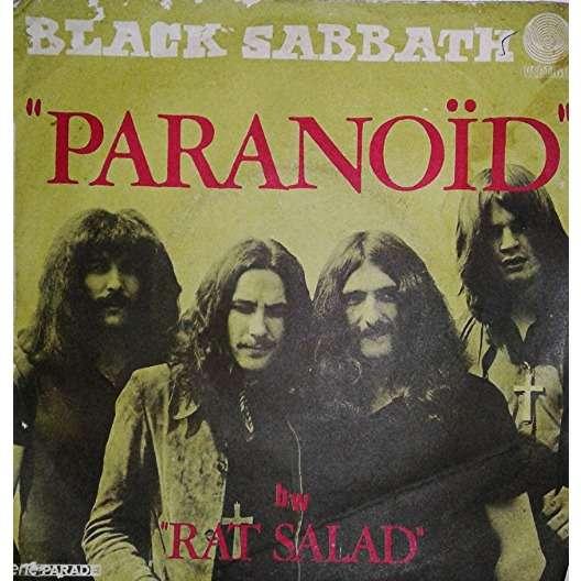 BLACK SABBATH paranoid / rat salad