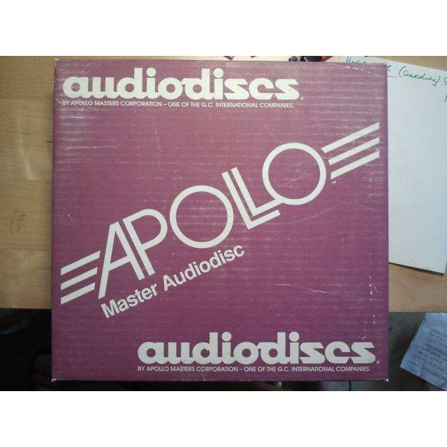 APOLLO / AUDIODISC EMPTY 10 INCH ACETATE BOX