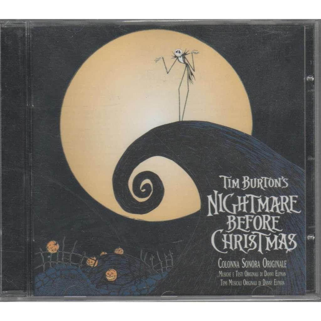 Renato Zero Tim Burton's Nightmare Before Christmas (Italian 1995 Ltd OST CD album full ps)