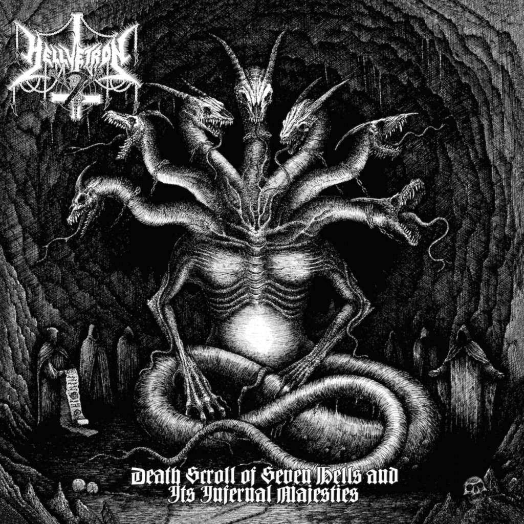 HELLVETRON Death Scroll Of Seven Hells And It's Infernal Majesties