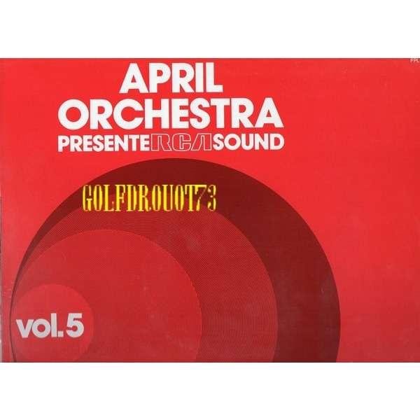 DI JARRELL . ( AMEDEO TOMMASI ) APRIL ORCHESTRA PRESENTE RCA SOUND . VOL. 5