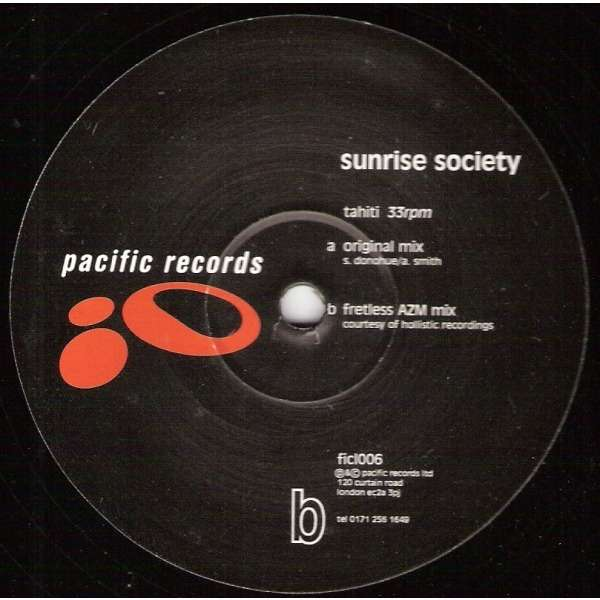 Sunrise Society Tahiti