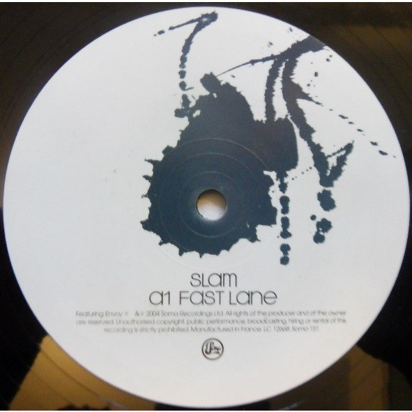 Slam 3B4Zero [Fast Lane/ Known Pleasures/Bright Lights Fading ] Limited Edition