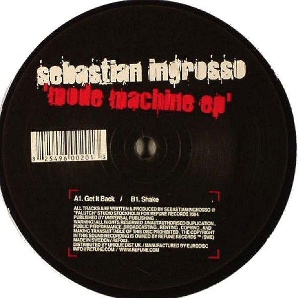 Sebastian Ingrosso Mode Machine EP [Get It Back /Shake ]